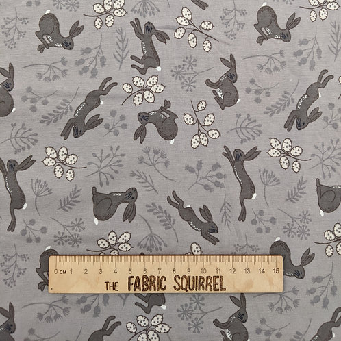 Pretty Grey Hare Jersey - by Lewis & Irene