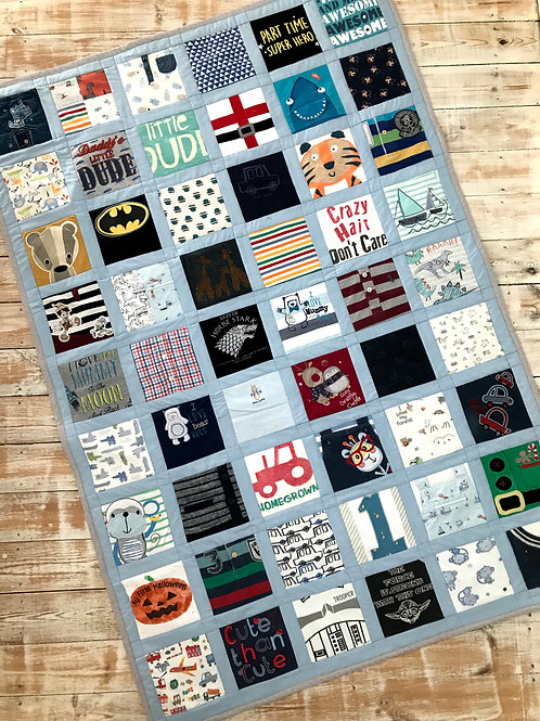 Large Windowed Keepsake Quilt