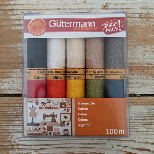 Gutermann Thread Pack of 10