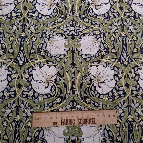 Pimpernel William Morris Cotton Fabric - V & A Museum from Craft Cotton Company
