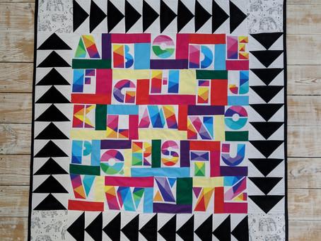Alphabet Baby Quilt - Free Pattern