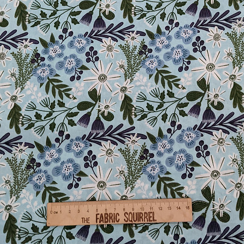 Blue and White Florals - Green and Pink Floral Collection