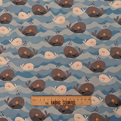 Whale of a Time by QT Fabrics