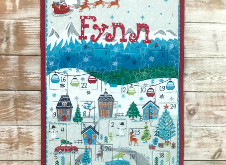 Christmas Advent Calendar Panel