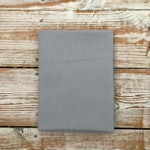Grey - Basic Solid Cotton