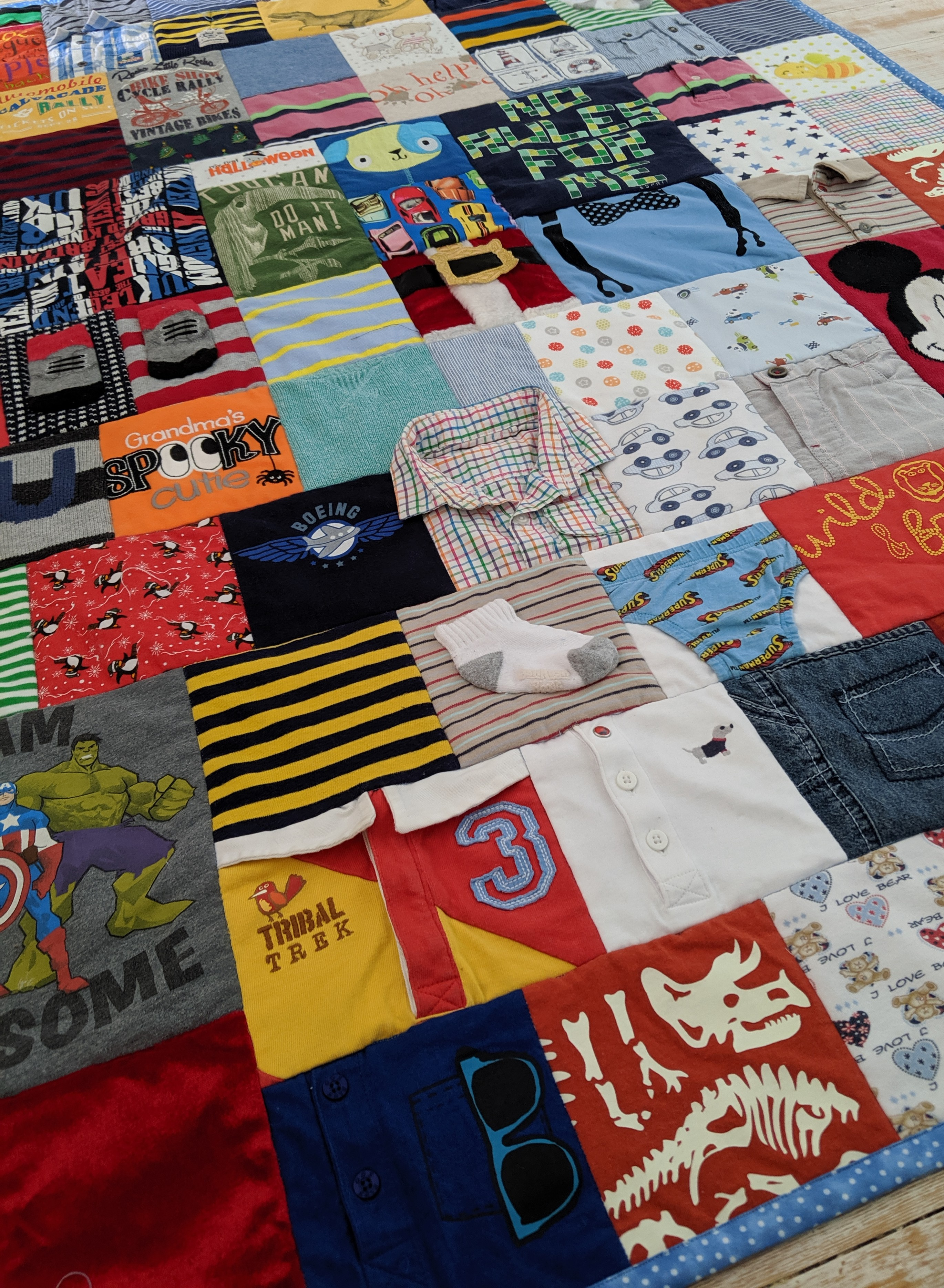Large Mosiac Quilt