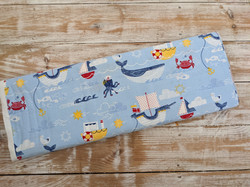 Sea Life Fabric -Nautical Friends by Craft Cotton