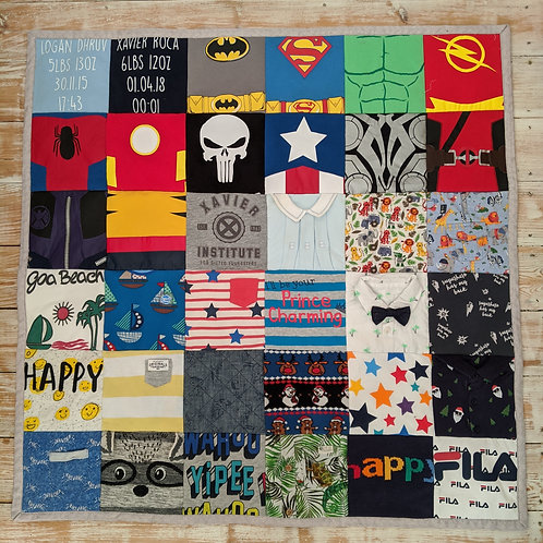 Square Keepsake Quilts