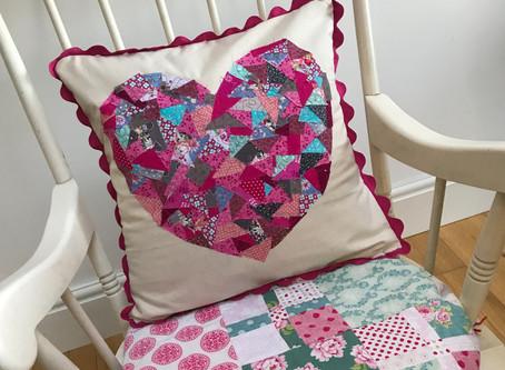 Every Last Piece Heart Cushion