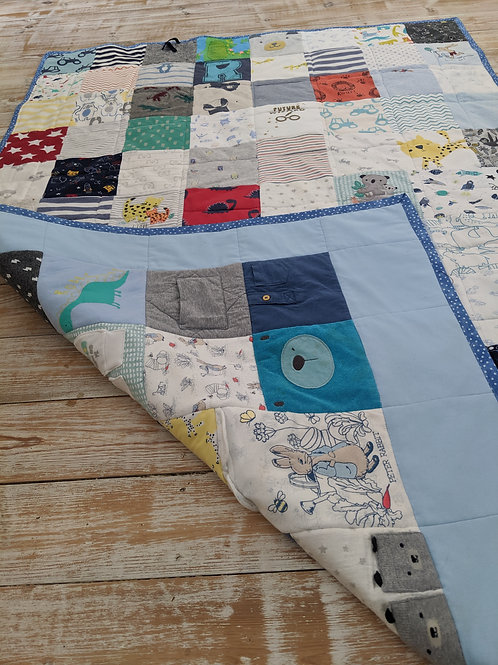 Large Double Sided Keepsake Quilt
