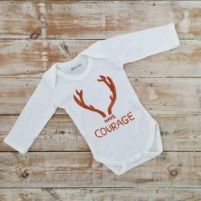 Have courage and go for it, get this vest from my Etsy shop