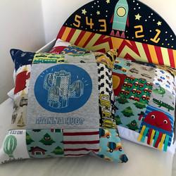 Keepsake cushion and pillow case