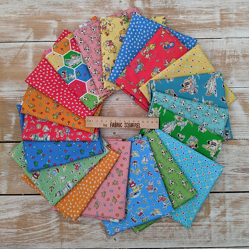 Playtime Fat Quarters by Midwest Textiles