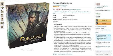 Gorgasali Battle Royale on Amazon
