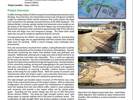 Napa River Dry Bypass Project