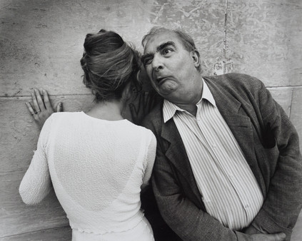 Sandrine Bonnaire ,actress, and Claude Chabrol , film director