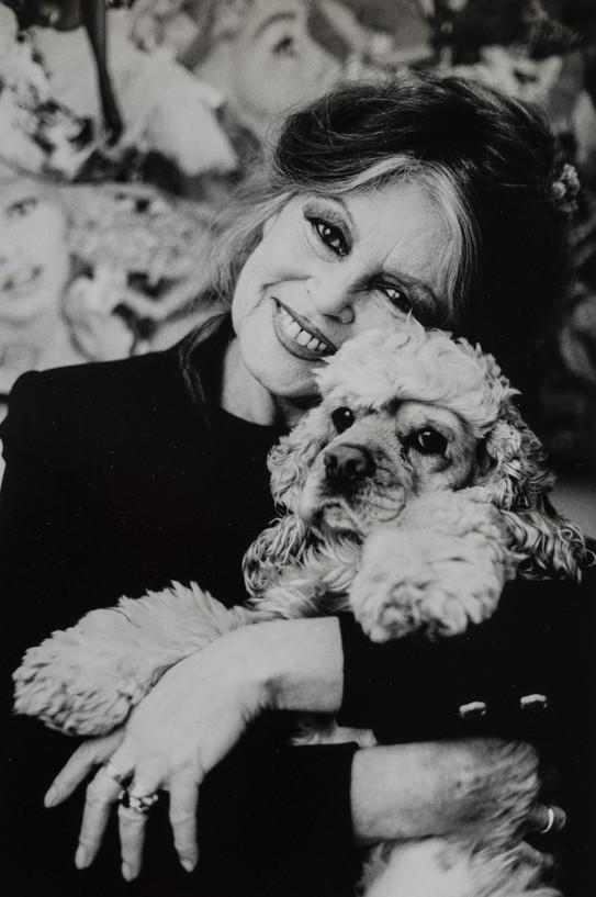 Brigitte Bardot ,animal protector