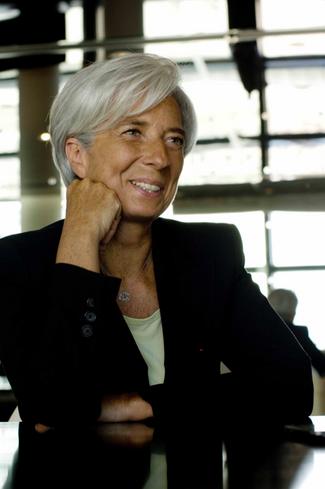 Christine Lagarde , politician