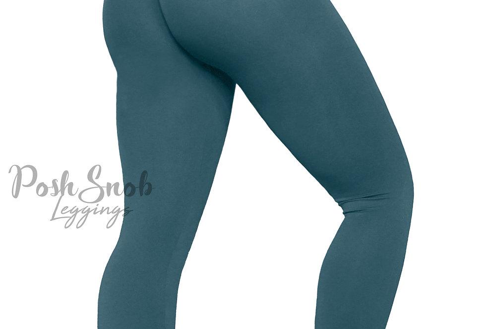 "PoshSnob ""Thin Skin"" Steel Blue Leggings"