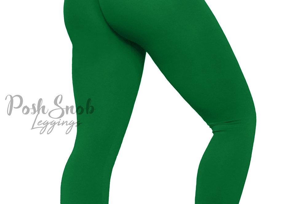 """PoshSnob """"Thin Skin"""" Green Leggings"""