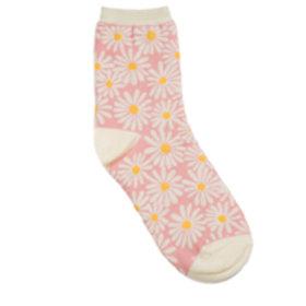 Daisy Sock Light Pink