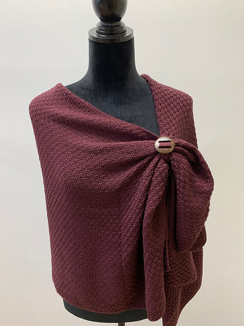 Pull Through Bordeaux Wrap