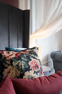 Red suite bedside