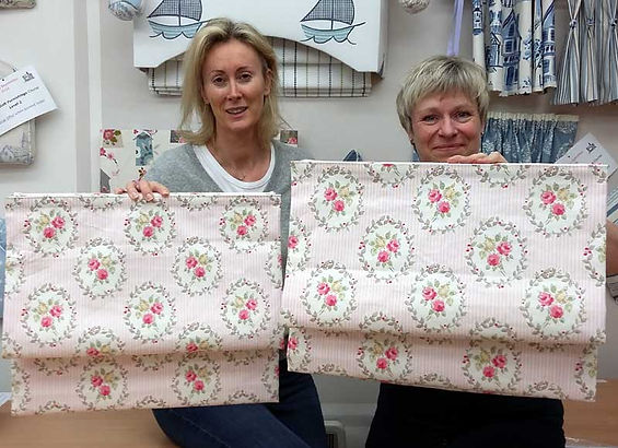 Sue Hazell - Sewing Tuition - Chipping Norton - Curtains, Cushions and Roman Blinds