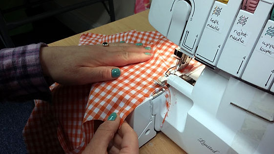 Sue Hazell - Sewing Tuition - Chipping Norton - Overlocker Day