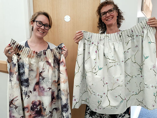Sue Hazell - Sewing Tuition - Chipping Norton - Curtains