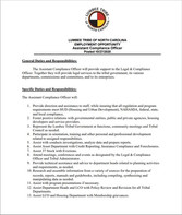 Assistant Compliance Officer