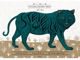 STEVE SHELLEY / VALÉRIO / KISHIMOTO