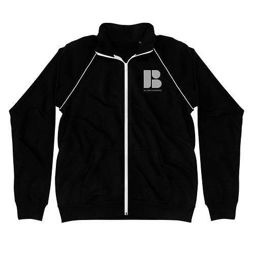 Signature Brandmark Piped Fleece Jacket