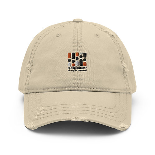 Our Tribe Logo  Distressed Dad Hat