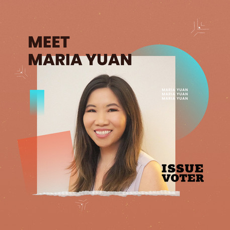 Meet Maria Yuan, Founder of IssueVoter