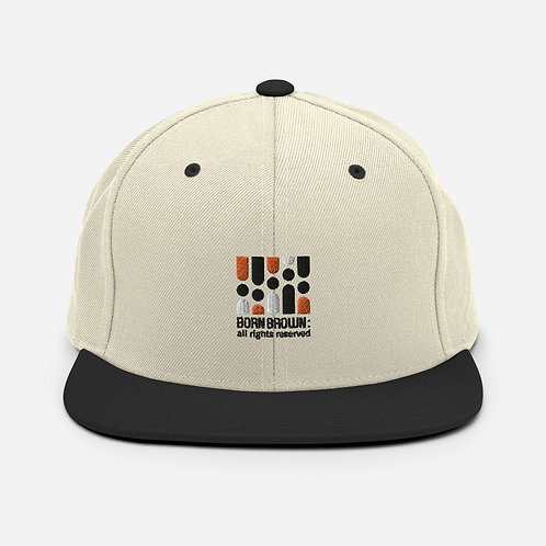 Our Tribe Logo Snapback Hat