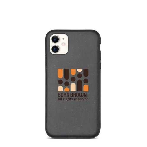 Our Tribe Logo Biodegradable phone case