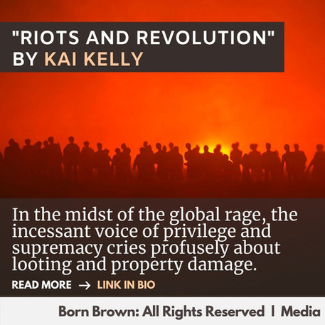 Riots and Revolution