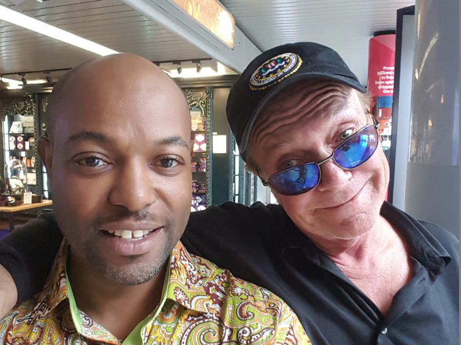 with David Cassidy