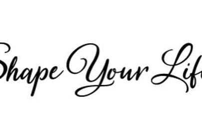 Shape Your Life Online Group New Member Registration UK