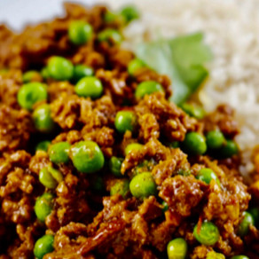 Curried Mince & Rice