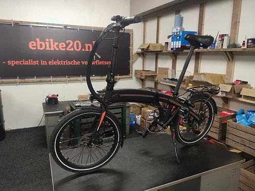 Ebike20 Design II - zwart