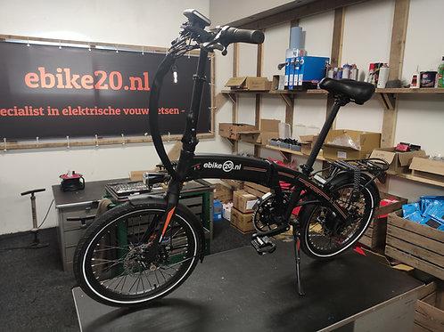 Ebike20 Design III met krachtsensor - versnellingen