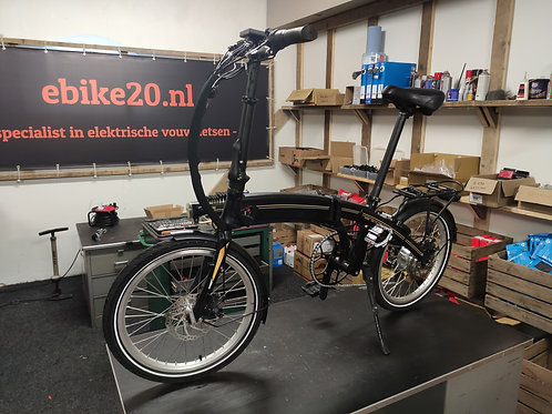 Ebike20 Design II - zwart / zilver