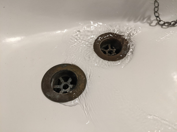 Sink With Two Plug Holes