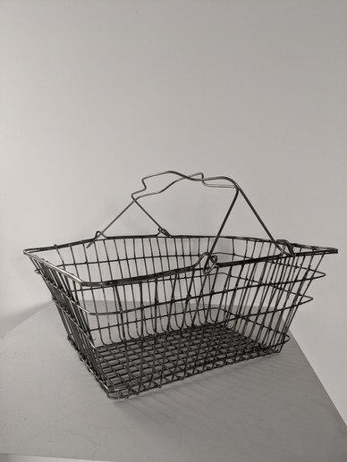 Home Made Shopping Basket