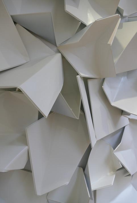 Bent KFC Ceiling Tiles