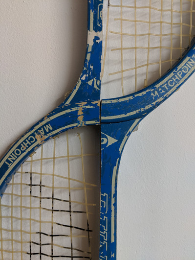 Upside Down, Right Way Up Tennis Racket