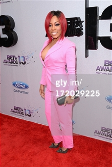 K.Michele 2013 BET Awards