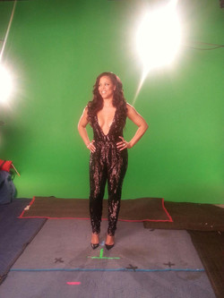 Shaunie Oneal- Behind the scenes
